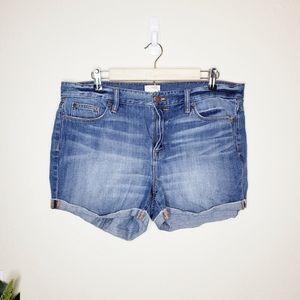 J.Crew Denim Shorts in Liza Wash